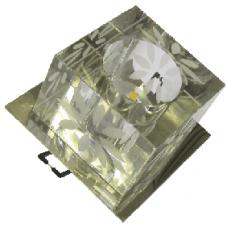 Briaton Светильник светодиодный встраиваемый декор., 4W, теплый, 90*80, D 60 мм