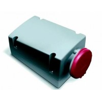 ABB RL Розетка для монтажа на поверхность с подключением шлейфа 432RL6, 32A, 3P+N+E, IP44, 6ч