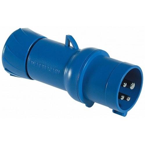 SE PratiKa Вилка кабельная, быстрозажимное соединение, 32А 2P+E IP44 220В