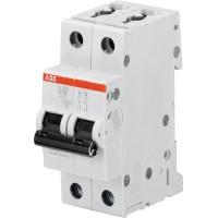 ABB S202 Автоматический выключатель 2P 13А (B) 6kA