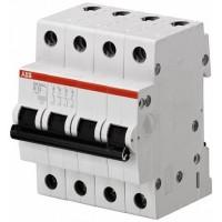ABB SH204L Автоматический выключатель 4P 10A (B)