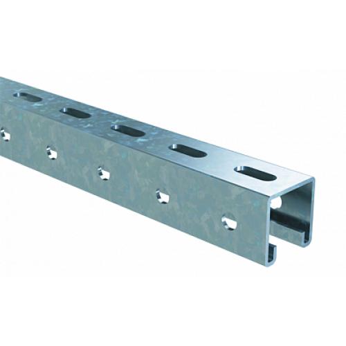 DKC С-образный профиль 41х41, L6000, толщ.2,5 мм, цинк-ламельный