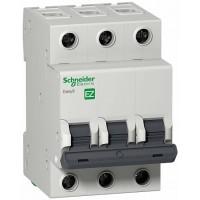 SE EASY 9 Автоматический выключатель 3P 6A (C)