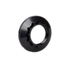 IEK Кольцо к патрону, пластик, Е14, черный