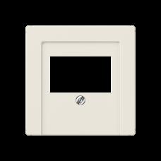 JUNG AS 500 Бежевая Крышка для TAE-розетки, моно-/стерео аудио розетки