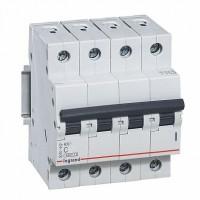 Legrand RX3 Автоматический выключатель 4P 10А (C) 4,5kA