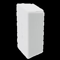 DKC Заглушка торцевая для двойного С-образного профиля 41х41 мм, белая RAL9010