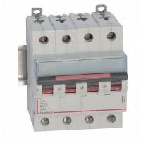 Legrand DX3 Автоматический выключатель 4P 25A (Z) 25kA