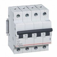 Legrand RX3 Автоматический выключатель 4P 20А (C) 4,5kA
