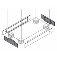ABB Цоколь для шкафов SRX 500х250х100мм