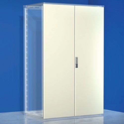 DKC Дверь сплошная, двустворчатая, для шкафов CQE, 1400 x 800мм