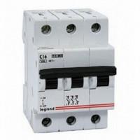 Legrand LR Автоматический выключатель 3P 16А (С) 6kA