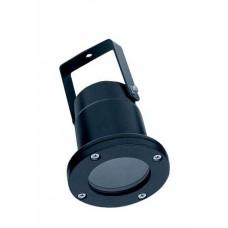 Favourite Relief Черный/Прозрачный Светильник уличный 1*GU10*50W, IP65, лампа в комплект не входит