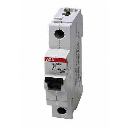 ABB S201 Автоматический выключатель 1P 6А (Z) 6кА