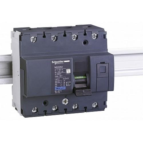 SE Acti 9 NG125H Автоматический выключатель 4P 40A (C)