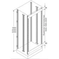 ABB Стойки каркаса(4 шт)+промежуточные(2шт) для установки ячеек H=2200мм