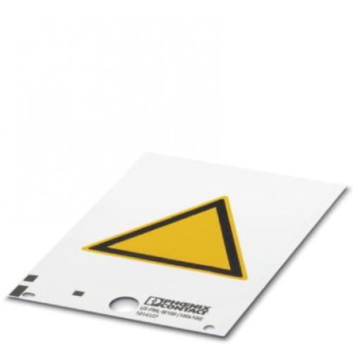 Phoenix Contact Предупредительная табличка US-PML-W200 (100X100)