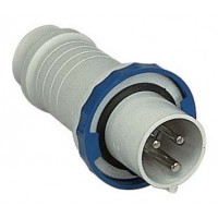 SE PratiKa Вилка кабельная, винтовой зажим, 125А 2P+E IP67 220В
