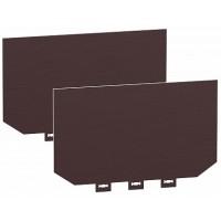 SE Compact NSX 2 Изолированых экрана 4P 70мм (NSX400/630)