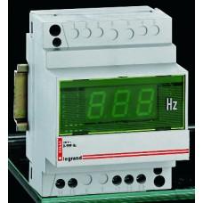 Legrand Цифровой измеритель частоты диапазон измерения 40-80 Гц монтаж на рейке DIN