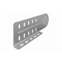 OSTEC Соединитель универсальный шарнирный для лотка УЛ высотой 100 мм (1 мм) (1 компл = 2 шт)