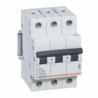 Legrand RX3 Автоматический выключатель 3P 16А (C) 4,5kA