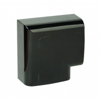 DKC Угол плоский 110х50 мм, черный