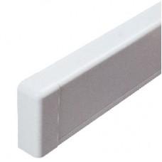 DKC Заглушка для плинтусного короба 100х40 мм белый