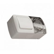 ABB EVA блок выкл1кл+розетка с/з IP54