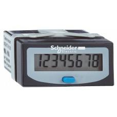 SE Счетчик моточасов 8 цифр жк-д батарейка