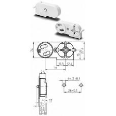 VS Патрон со стартеродержателем для ламп Т8 и Т12