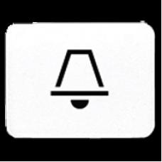 JUNG CD 500/CD plus Белая Линза с символом ЗВОНОК для клавиши с окошком