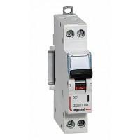 Legrand DX3 Автоматический выключатель 1P+N 2А (С) 6kA/10кА