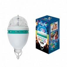 Volpe Белый Светодиодный светильник-проектор, многоцветный, 220В