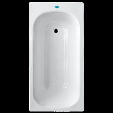 """Ванна """"Laguna"""" стальная эмалированная без сифона с ножками """"С1"""", белая 1500х700х360"""