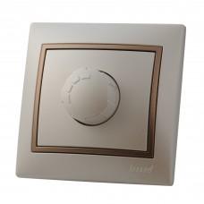MIRA Диммер 800 Вт Жемчужно-белый металлик/Светло-коричневый металлик
