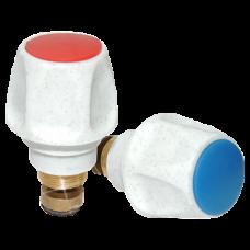 Маховик для смесителей и кранов резиновая резьба М18х1 Цветлит