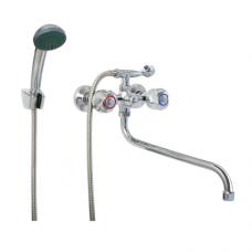 Смеситель для ванны ПСМ-157-ЕК/75 двуручный Профсан