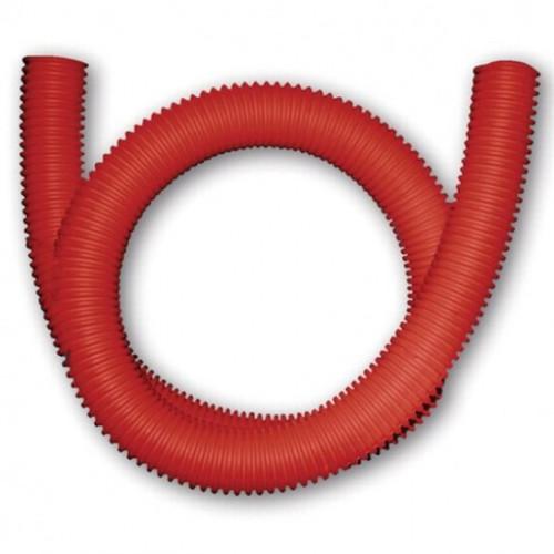 Шланг гофрированный для PE-X ПЭ красный Санпласт