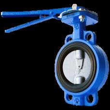 Затвор дисковый поворотный чугун 32ч1р межфл манжета EPDM ЛМЗ