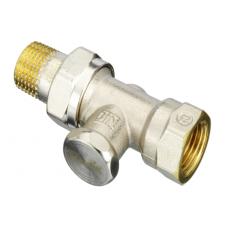 Клапан запорный для радиатора RLV-S никель Ру10 ВР прямой Danfoss