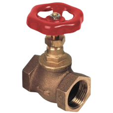 Клапан запорный прямой бронза R2148 ВР Tecofi