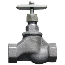 Клапан запорный чугун 15кч18п1 ВР сальниковое уплотнение