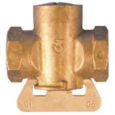 Кран конусный латунь газ 11б12бк Ру0,1 ВР Цветлит