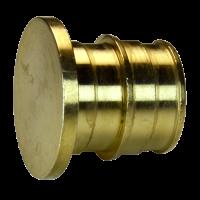 Заглушка для PE-X латунь РОС