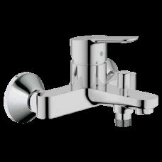 Смеситель для ванны с душем BauEdge одноручный Grohe