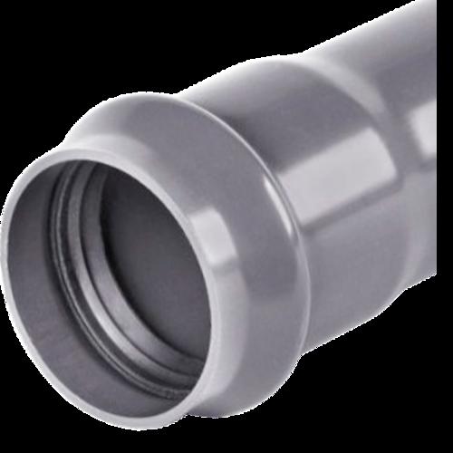 Труба НПВХ SDR21 серая Ру12,5 раструбная ГОСТ Р 51613-2000