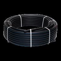 Труба ПЭ100 SDR13,6 Ру12,5 для х/в ГОСТ 18599-2001