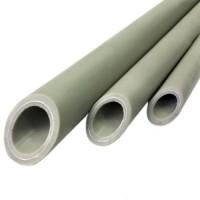 Труба PP-R арм алюминием серая Ру25 SDR6 РосТурПласт