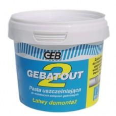 Мастика для пропитки льна Gebatout 2 банка 500гр вода GEB